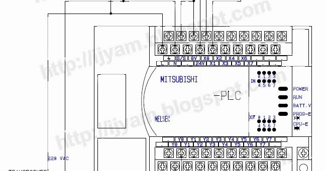 how to connect a 3 wire dc solid state proximity sensor to a plc in mitsubishi plc wiring diagram mitsubishi plc wiring diagram mitsubishi wiring diagram instructions plc wiring schematic at eliteediting.co