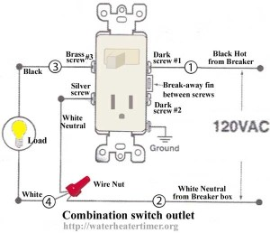 120V Electrical Switch Light Wiring Diagrams | Fuse Box