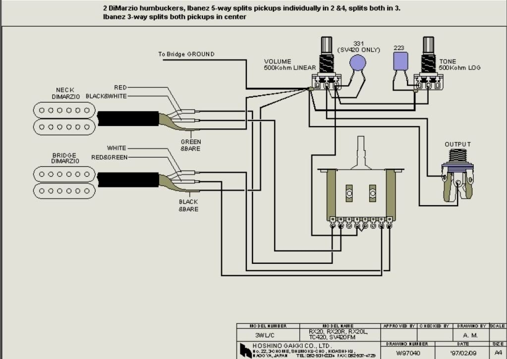Perfect Ibanez Gio Electric Guitar Schematics Wiring Diagrams ...