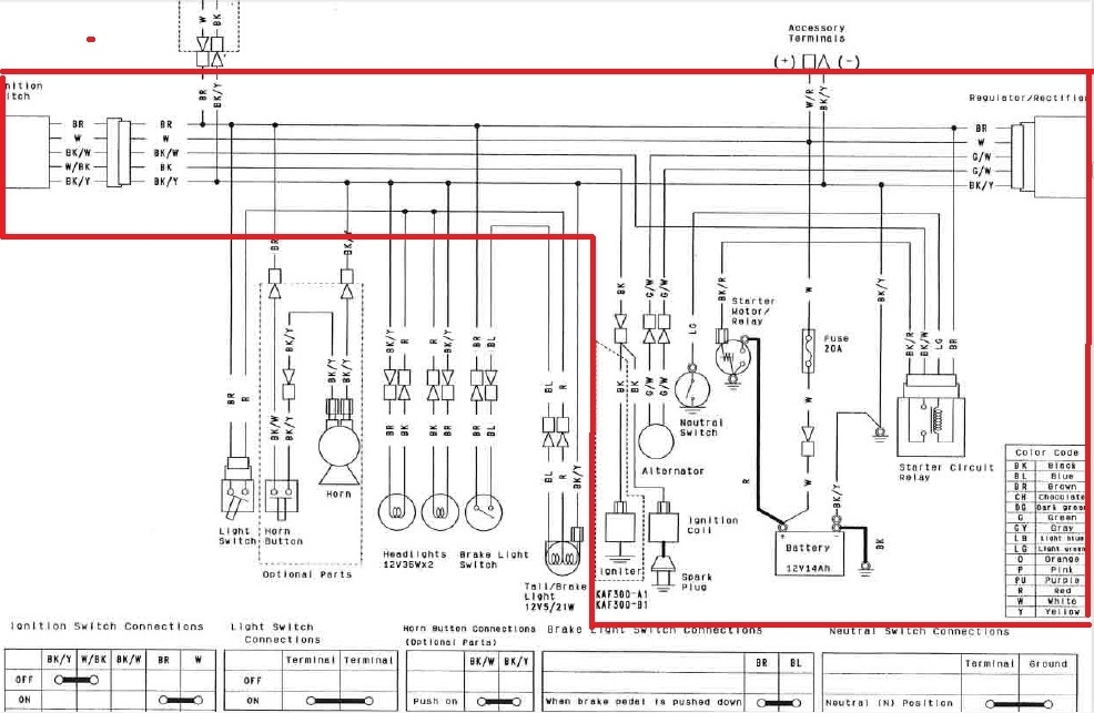 kawasaki mule 4010 wiring diagram kawasaki free wiring diagrams with free wiring diagrams?resize\=665%2C434\&ssl\=1 klr 250 wiring diagram wiring diagram shrutiradio ex500 wiring diagram at love-stories.co