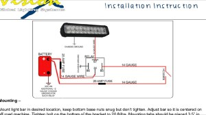 Led Light Bar Wiring Diagram | Fuse Box And Wiring Diagram