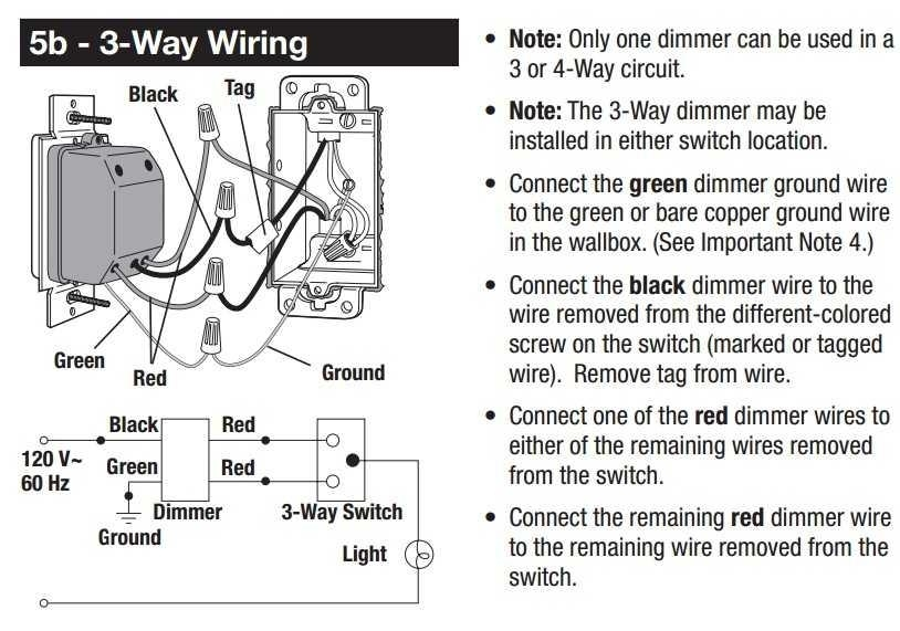 Beautiful Installing Dimmer Switch 3 Way Ideas Images for image – Diagram Of Wire A Leviton 5225