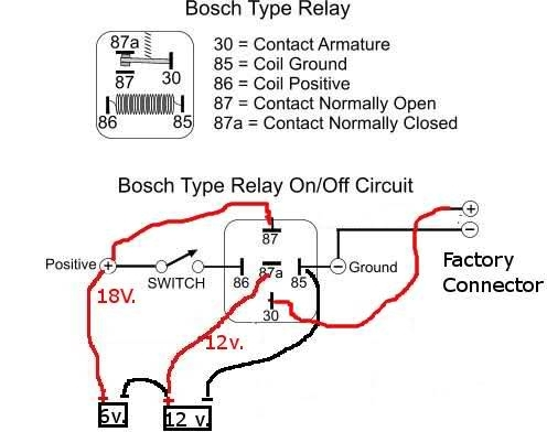 Awesome Bosch 12v Relay Wiring Diagram Contemporary Images For Beautiful Bosch 30 Amp Relay Wiring Diagram Images Images For