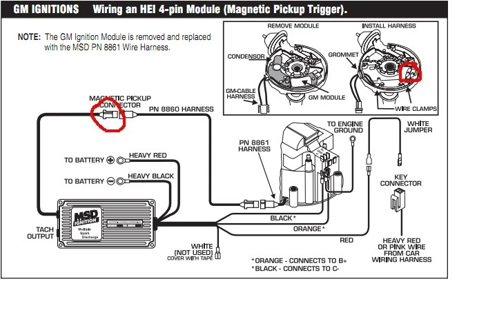 msd ignition 6al wiring diagram installing to points or amplifier throughout msd 6a wiring diagram msd 6 wiring diagrams msd wiring diagrams msd ignition wiring diagram chevy at soozxer.org