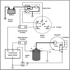 Pagoda Sl Group Technical Manual :: Electrical  Transistorignition for Ignition Coil Ballast