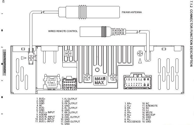Nice pioneer deh 43 wiring diagram gallery everything you need amusing pioneer deh p4100ub wiring diagram gallery best image asfbconference2016 Image collections