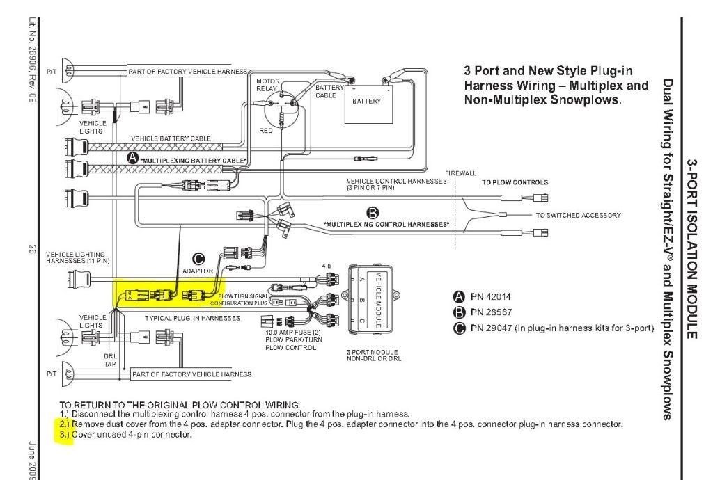 curtis sno pro 3000 wiring harness   34 wiring diagram