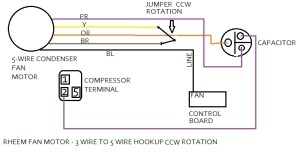 Ac Condenser Fan Motor Wiring Diagram | Fuse Box And