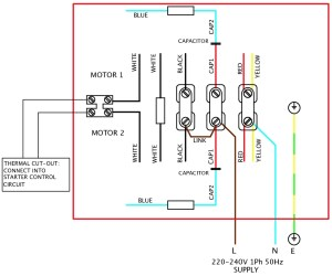 Single Phase Motor Wiring Diagram Wiring Electrical Wiring Diagrams intended for 1 Phase Motor