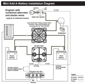 Blue Sea Add A Battery Wiring Diagram | Fuse Box And