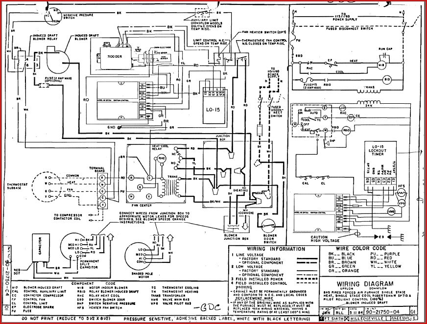 old fashioned goodman gmp075 3 wiring diagram image collection rh itseo info Goodman Furnace Schematic Diagram Goodman Furnace Wiring Diagram