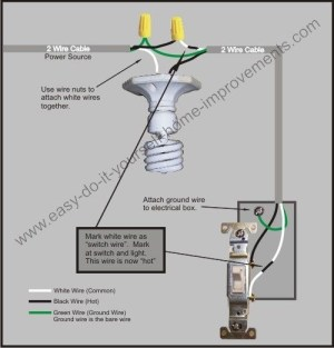 120V Electrical Switch Light Wiring Diagrams | Fuse Box