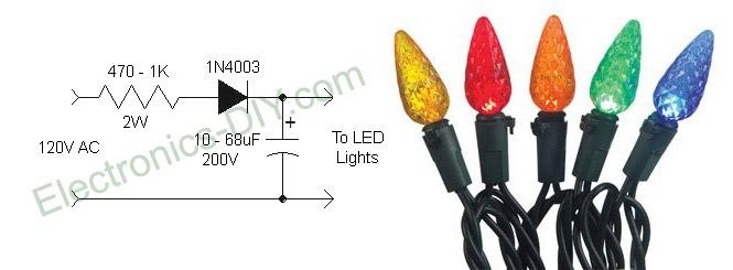 Led Christmas Light String Wiring Diagram