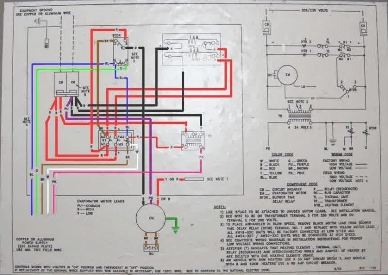 wiring diagram for goodman air handler the wiring diagram regarding goodman air handler wiring diagram goodman furnace wiring diagram goodman gsz14 installation manual solic 200 wiring diagram at sewacar.co