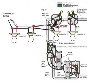 Light Fixture Wiring Diagram | Fuse Box And Wiring Diagram