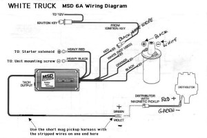 Msd 6A Wiring Diagram   Fuse Box And Wiring Diagram