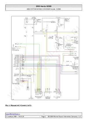 2001 Honda S2000 Wiring Diagram | Fuse Box And Wiring Diagram