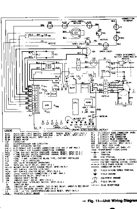 York Electric Furnace Wiring Diagram - WIRE Center •