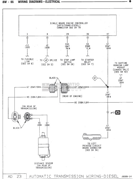 Dodge Ram 1500 Transmission Wiring Harness : Dodge ram automatic transmission diagram auto