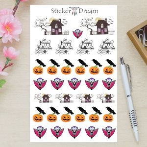 Sticker Dream - Cartela de Halloween