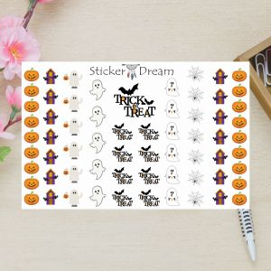 Sticker Dream - Cartela Super Halloween