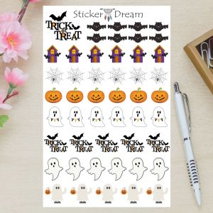 Sticker Dream - Cartela Halloween