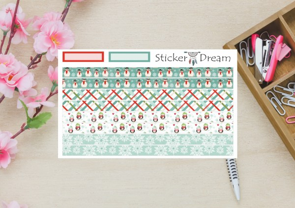 Sticker Dream - Whasi Strip Natal