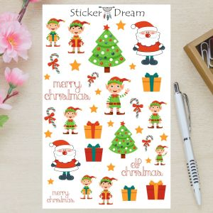 Sticker Dream - Cartela Super Natal
