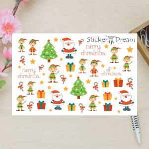 Sticker Dream - Super Merry Christmas