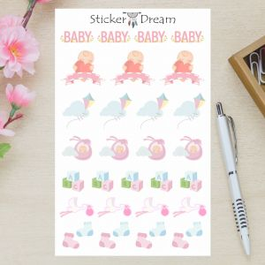Sticker Dream - Baby Girl