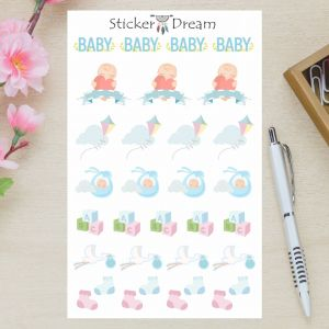 Sticker Dream - Baby Boy