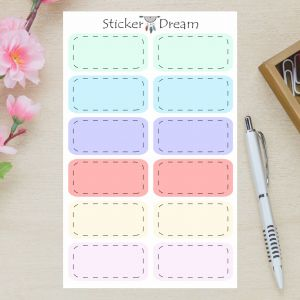 Sticker Dream - Cartela Half Box