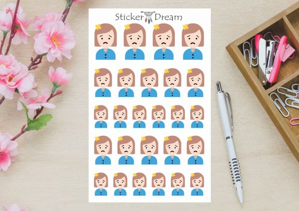Sticker Dream - Cartela Enxaqueca