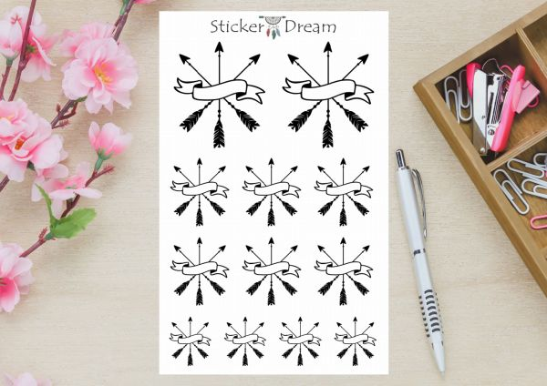 Sticker Dream - Cartela Seta Banner