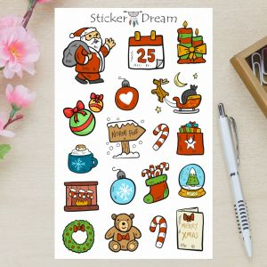 Sticker Dream - Cartela Polo Norte