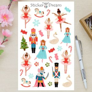 Sticker Dream - Cartela Quebra Nozes