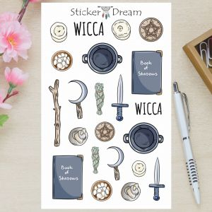Sticker Dream - Cartela Wicca