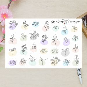 Sticker Dream - Cartela Super Delicate