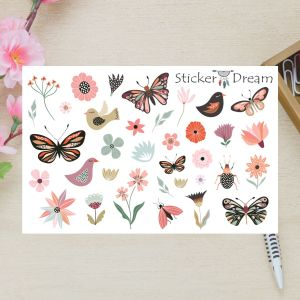 Sticker Dream - Cartela Super Livre Para Voar