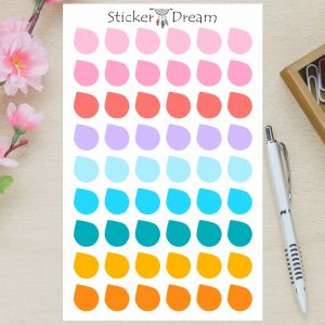Sticker Dream - Cartela Gotinhas Color