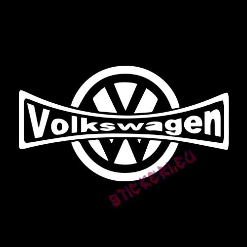 Стикер Volkswagen емблема 2 2
