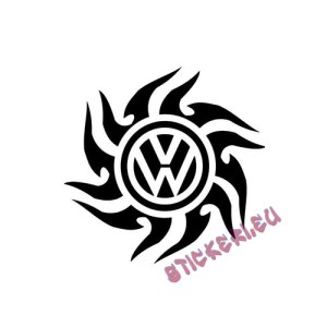 Стикер Volkswagen емблема