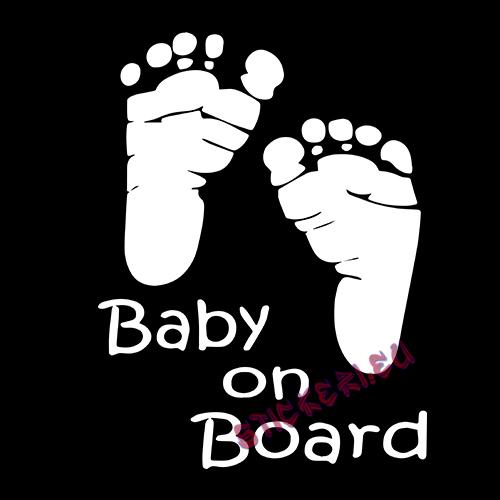 бебешки крачета - Baby on Board 2