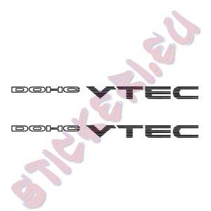 Стикери Honda DOHC Vtec