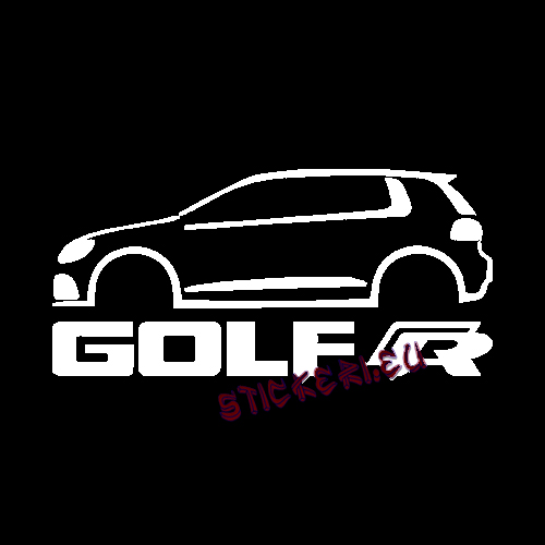 Стикер golf VW - 2 - Sticker.eu