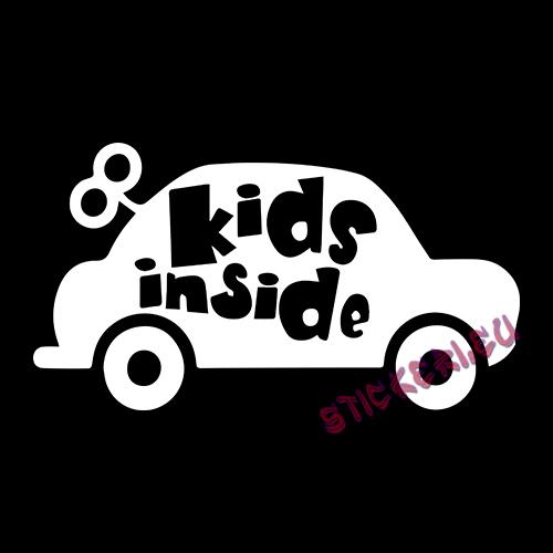 Стикер Kids Inside 2