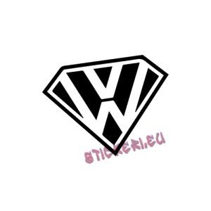 Стикер супер Volkswagen