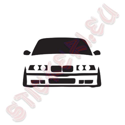 Стикер BMW Е36