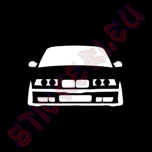 Стикер BMW Е36 2