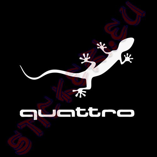 Стикер за Audi Quattro 2